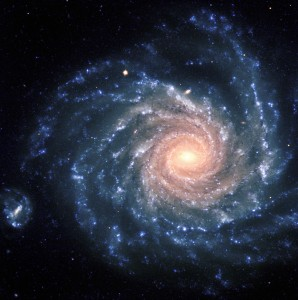 Galaxia spirală NGC 1232. Credit imagine: ESO